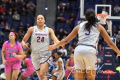 NCAA Women's Basketball - UConn Huskies 102 vs. Memphis Tigers 45 (105)