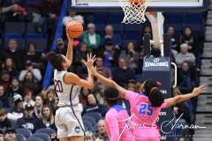 NCAA Women's Basketball - UConn Huskies 102 vs. Memphis Tigers 45 (116)