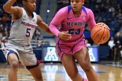 NCAA Women's Basketball - UConn Huskies 102 vs. Memphis Tigers 45 (120)