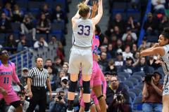 NCAA Women's Basketball - UConn Huskies 102 vs. Memphis Tigers 45 (122)