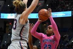 NCAA Women's Basketball - UConn Huskies 102 vs. Memphis Tigers 45 (125)