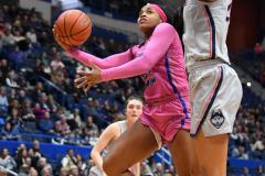 NCAA Women's Basketball - UConn Huskies 102 vs. Memphis Tigers 45 (134)