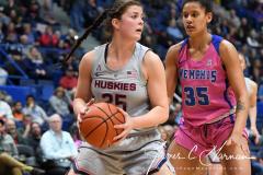 NCAA Women's Basketball - UConn Huskies 102 vs. Memphis Tigers 45 (140)