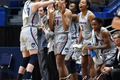 NCAA Women's Basketball - UConn Huskies 102 vs. Memphis Tigers 45 (142)