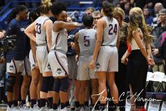NCAA Women's Basketball - UConn Huskies 102 vs. Memphis Tigers 45 (15)