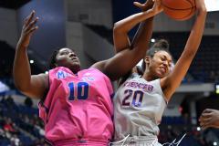 NCAA Women's Basketball - UConn Huskies 102 vs. Memphis Tigers 45 (159)