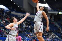 NCAA Women's Basketball - UConn Huskies 102 vs. Memphis Tigers 45 (163)