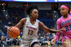 NCAA Women's Basketball - UConn Huskies 102 vs. Memphis Tigers 45 (18)