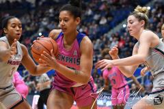 NCAA Women's Basketball - UConn Huskies 102 vs. Memphis Tigers 45 (29)
