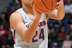 NCAA Women's Basketball - UConn Huskies 102 vs. Memphis Tigers 45 (36)