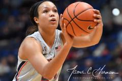 NCAA Women's Basketball - UConn Huskies 102 vs. Memphis Tigers 45 (42)
