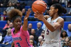 NCAA Women's Basketball - UConn Huskies 102 vs. Memphis Tigers 45 (71)