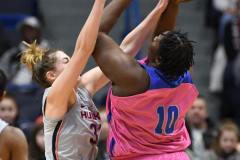 NCAA Women's Basketball - UConn Huskies 102 vs. Memphis Tigers 45 (74)