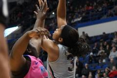 NCAA Women's Basketball - UConn Huskies 102 vs. Memphis Tigers 45 (75)