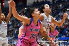 NCAA Women's Basketball - UConn Huskies 102 vs. Memphis Tigers 45 (80)