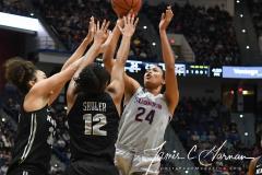 NCAA Women's Basketball - UConn 93 vs. UCF 57 (55)