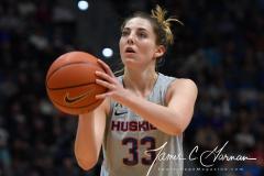 NCAA Women's Basketball - UConn 93 vs. UCF 57 (65)
