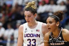 NCAA Women's Basketball - UConn 97 vs. South Carolina 79 (73)