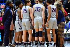 NCAA Women's Basketball; UConn vs. Seton Hall - Photo # 064