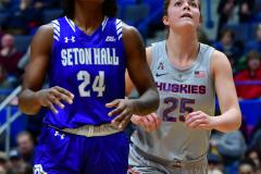 NCAA Women's Basketball; UConn vs. Seton Hall - Photo # 130