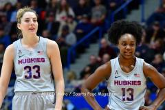 NCAA Women's Basketball; UConn vs. Seton Hall - Photo # 152