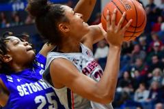 NCAA Women's Basketball; UConn vs. Seton Hall - Photo # 174