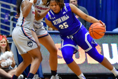 NCAA Women's Basketball; UConn vs. Seton Hall - Photo # 295