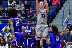 NCAA Women's Basketball; UConn vs. Seton Hall - Photo # 336