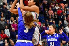 NCAA Women's Basketball; UConn vs. Seton Hall - Photo # 359