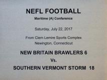 Gallery NEFL: New Britain Brawlers 6 vs. Southern Vermont Storm 18