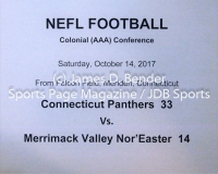 Gallery NELF: Connecticut Panthers 33 vs. Merrimack Valley Nor'Easter 14
