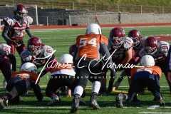 Pop Warner Football - Div III 12U N.E. Regional Championship - Naugatuck CT 28 vs. Springfield MA 0 (68)