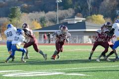 Southern CT Pop Warner Div III U12 Football Semi-Finals Naugatuck 33 vs Newington 0; Photo (30)