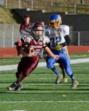 Southern CT Pop Warner Div III U12 Football Semi-Finals Naugatuck 33 vs Newington 0; Photo (35)
