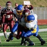 Southern CT Pop Warner Div III U12 Football Semi-Finals Naugatuck 33 vs Newington 0; Photo (36)
