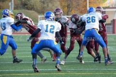 Southern CT Pop Warner Div III U12 Football Semi-Finals Naugatuck 33 vs Newington 0; Photo (39)