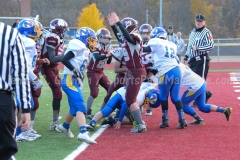 Southern CT Pop Warner Div III U12 Football Semi-Finals Naugatuck 33 vs Newington 0; Photo (45)