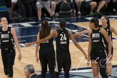 WNBA All-Star Game - Team Delle Donne 112 vs. Team Parker 119 (59)