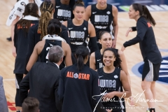 WNBA All-Star Game - Team Delle Donne 112 vs. Team Parker 119 (74)