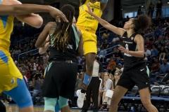Gallery WNBA; Chicago Sky 94 vs. New York Liberty 97 (9)