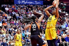 Gallery WNBA: Connecticut Sun 101 vs. Indiana Fever 89