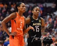 WNBA Connecticut Sun 101 vs. Las Vegas Aces 65 (23)
