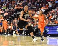 WNBA Connecticut Sun 101 vs. Las Vegas Aces 65 (33)
