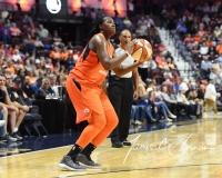 WNBA Connecticut Sun 101 vs. Las Vegas Aces 65 (42)