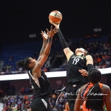 WNBA Connecticut Sun 101 vs. Las Vegas Aces 65 (44)