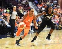 WNBA Connecticut Sun 101 vs. Las Vegas Aces 65 (48)