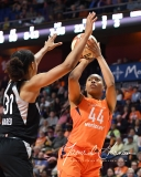 WNBA Connecticut Sun 101 vs. Las Vegas Aces 65 (49)