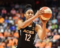 WNBA Connecticut Sun 101 vs. Las Vegas Aces 65 (55)