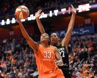 WNBA Connecticut Sun 101 vs. Las Vegas Aces 65 (63)