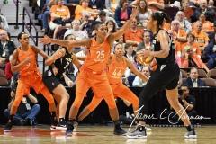 WNBA Connecticut Sun 101 vs. Las Vegas Aces 65 (68)